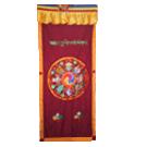 Auspicious Symbols Door Curtains