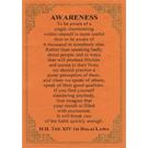 Quotes Card - Awareness