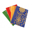 A Note Book With Real Brocade Cover