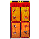 Embroidered Door Curtain
