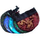 Dragon Pattern Mala Bag
