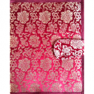 Pure Silk Flower Pattern Book Cover