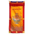 Lama Door Curtain with Tashi Dargye Symbol