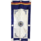 Embroidered Tashi Dargye Door Curtain