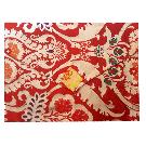 Large Brocade Book Bags Lotus Pattern