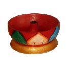 Painted Small Bowl Incense Burner