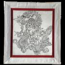 Silk Thangka of White Dzambala